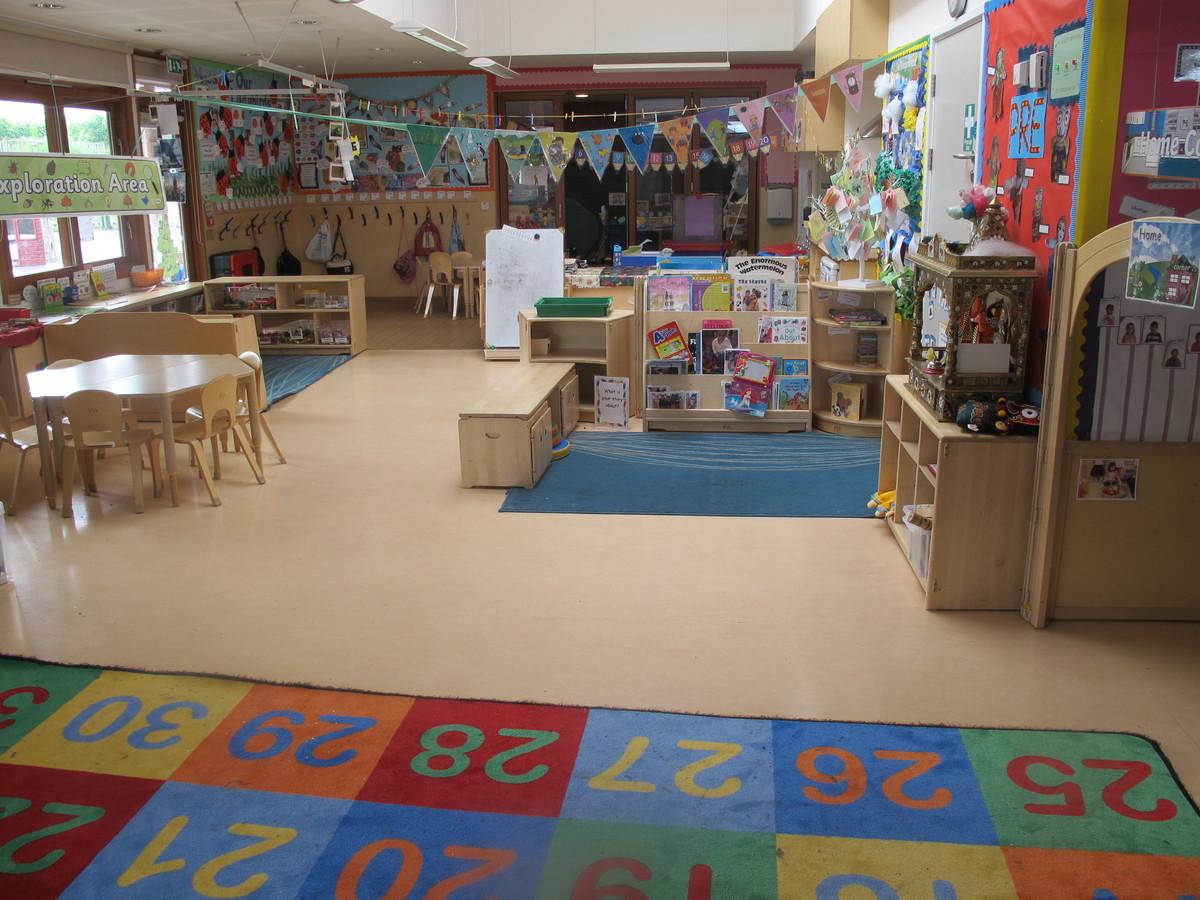 Classrooms At Krishna Avanti Harrow Primary School For