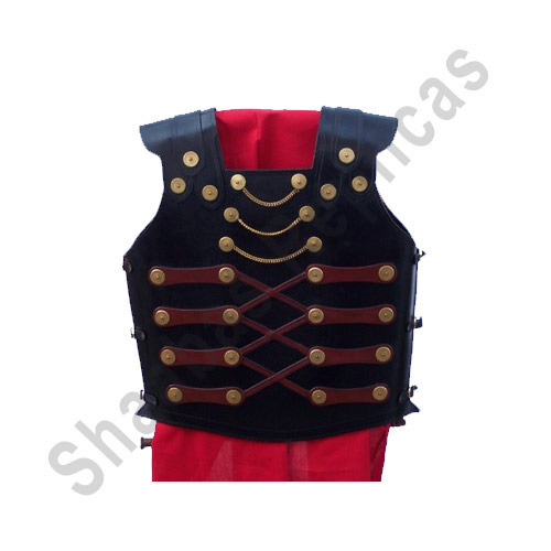Leather Armour Jacket