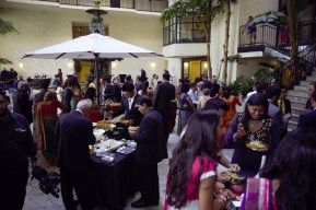 Another view of cocktails in the Atrium