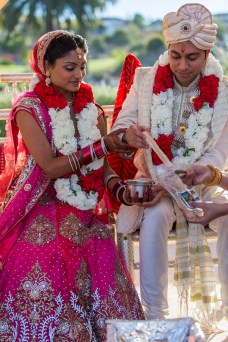 Priya commented that having 2 ceremonies in 1 day wasn't hard, as long as the logistics were planned out correctly.