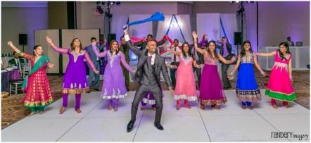 47-Anaheim-sheraton-park-orange-county-indian-hindu-reception-photography-groom-surprise-dance-photos