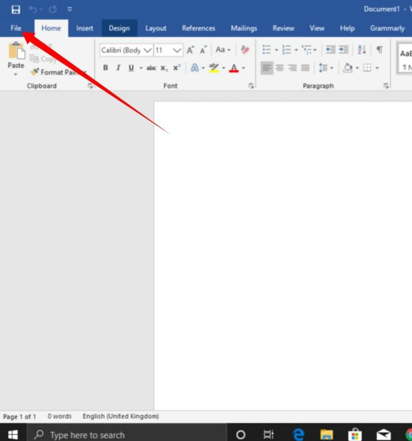 Change the Office Theme and background From Options