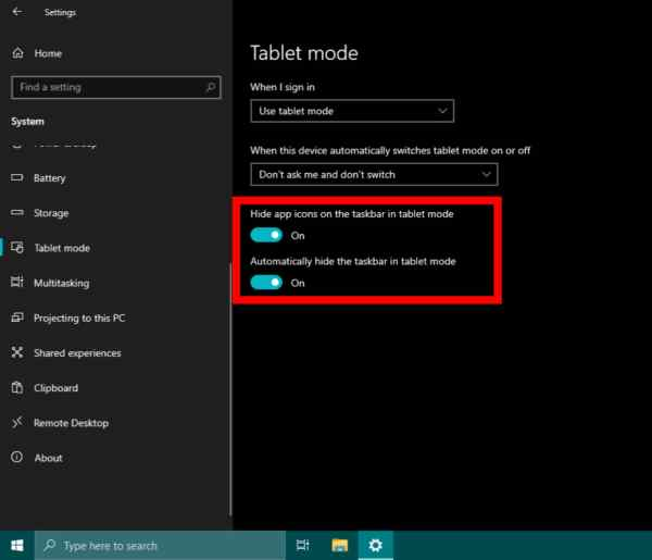 How to Customize, Enable & Disable Tablet Mode on Windows 10 in 2020
