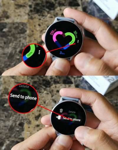 How to Take Screenshot on Galaxy Watch Active 2 & Samsung Gear S3