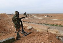 Photo of أهالي قرية حامو والجيش يعترضون رتلا للقوات الأمريكية بريف الحسكة