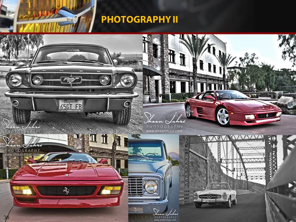 Exotic and classic car photography