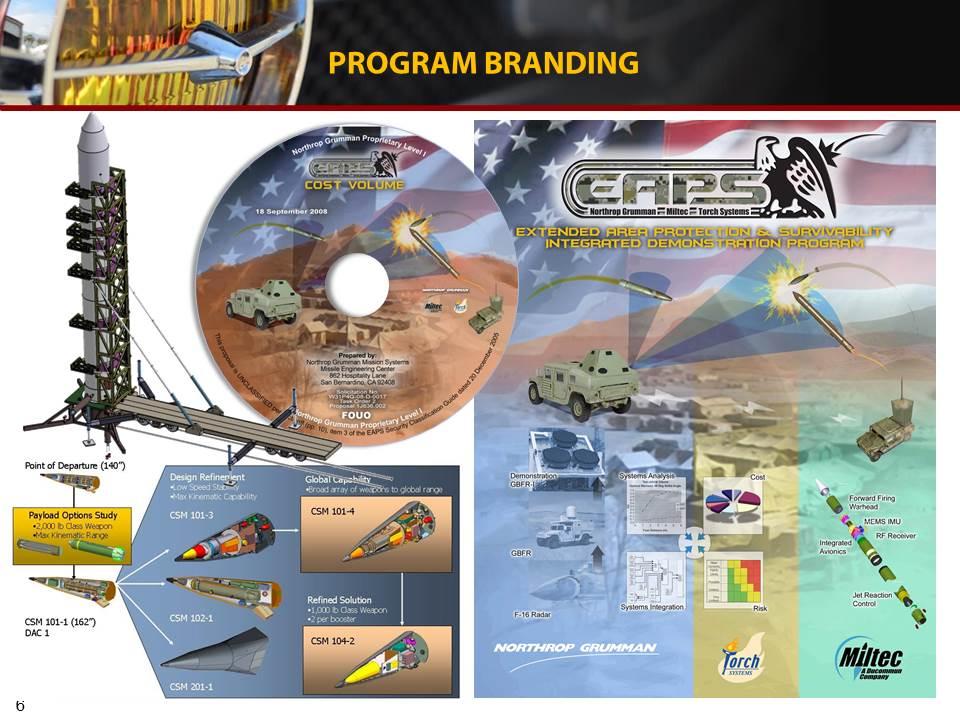 EAPS program logo, cover and CD cover design.