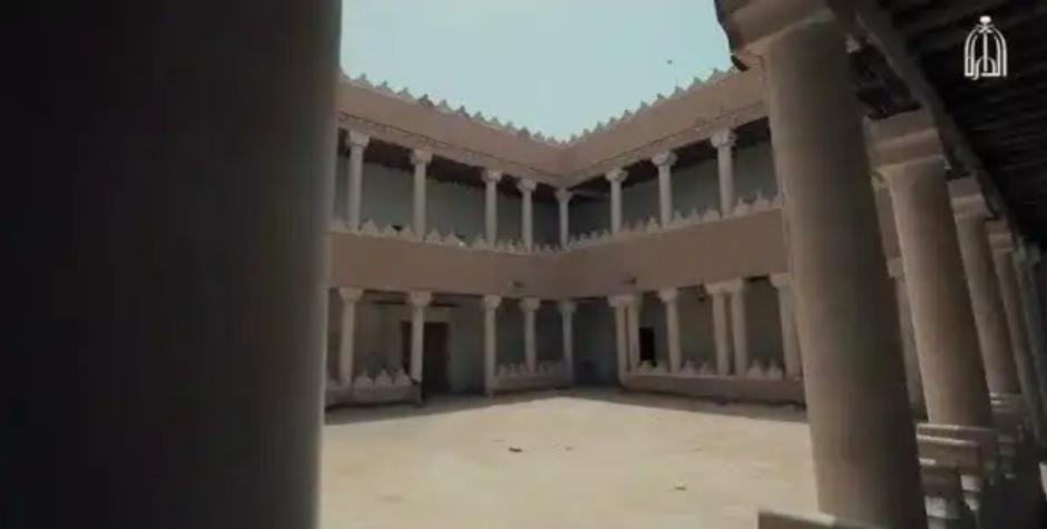 """""""قصر البديعة الملكي"""" في فيلم توثيقي لدارة الملك عبدالعزيز"""