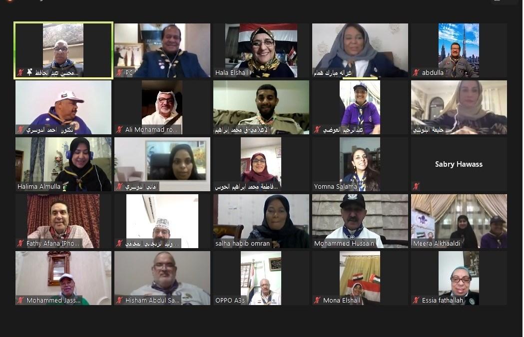 """رواد ورائدات كشافة الإمارات يدشنون مشروع """" معاً نلتقي لنرتقي """" وبرنامج المواهب"""
