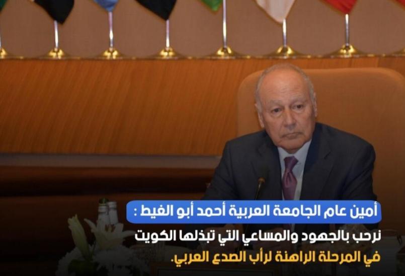 الجامعة العربية ترحب بكل الجهود لرأب الصدع العربي