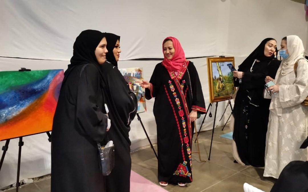 """السيدة نوال أدهم: تفتتح مبادرة تناغم الفن """" الفن للجميع"""""""