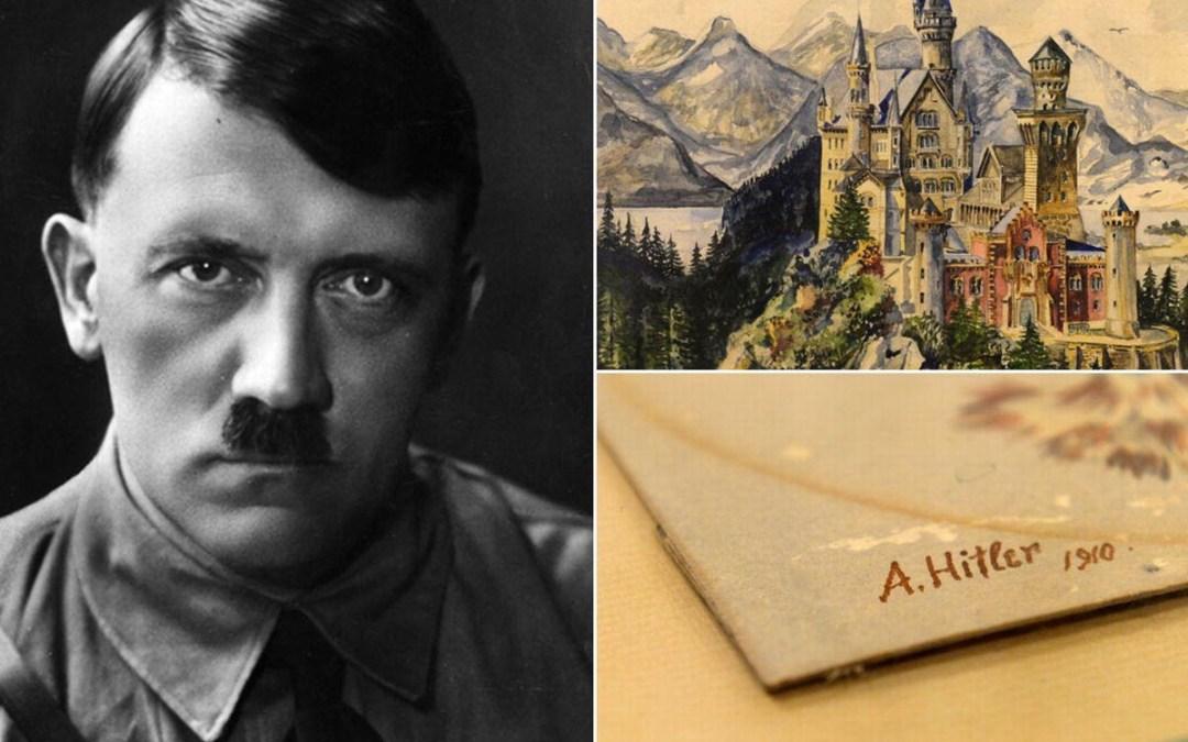 فن أدولف هتلر (من رسام إلى سفاح).