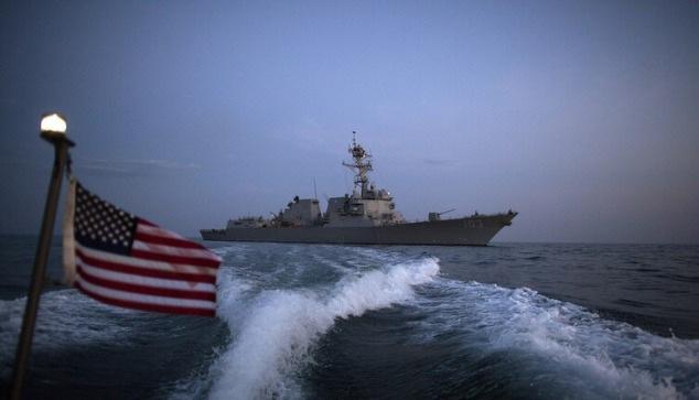عبور سفينة حربية أمريكية مضيق تايوان بعد تحذير أمريكي من غزو صيني لتايوان