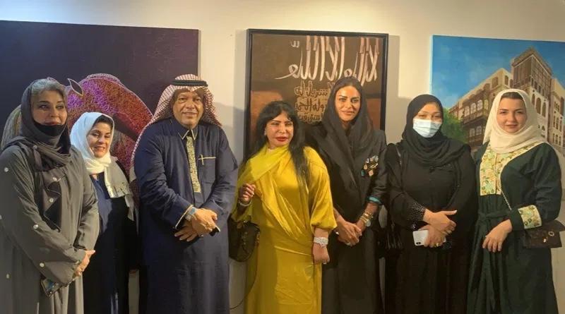 فنون المها ورؤى العربية يطلقان 3 معارض فنية