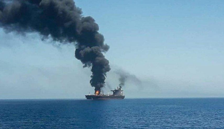 هجوم صاروخي على سفينة إسرائيلية في الخليج