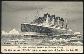بطاقة بريدية من تيتانيك معروضة للبيع