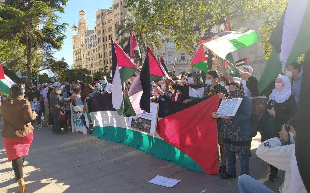 مظاهرات في عدة عواصم أوربية دعمًا للفلسطينيين