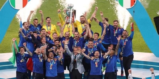 للمرة الثانية المنتخب الإيطالي بطلًا لأوروبا