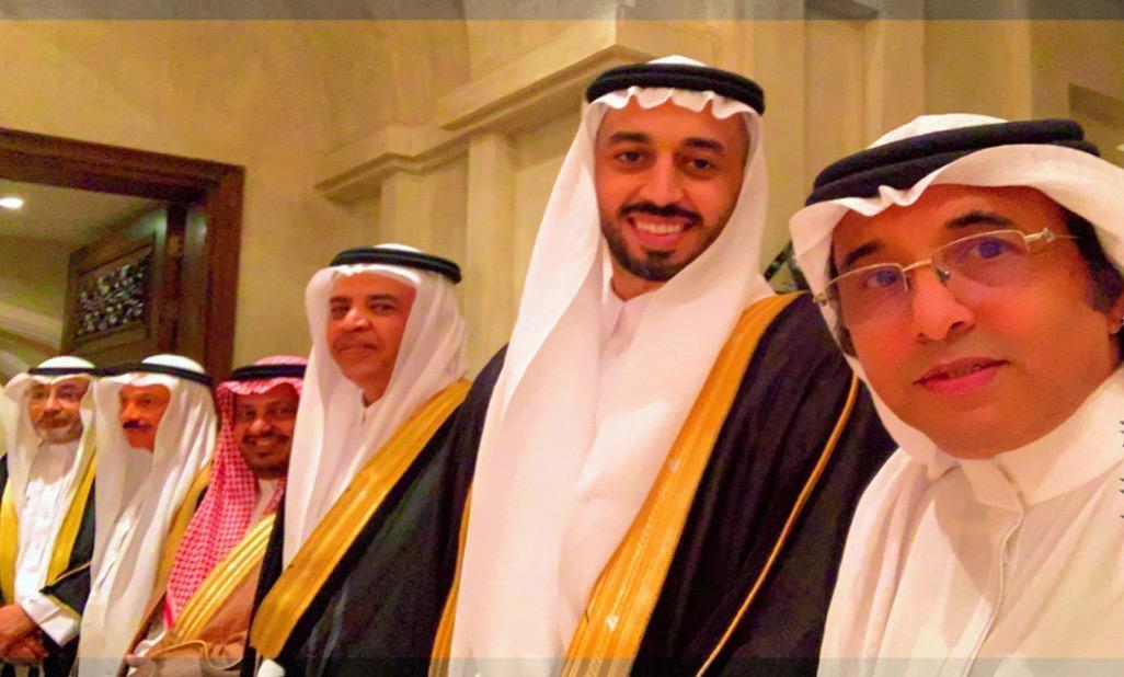 الشاب سلطان خطيري يحتفل بعقد قرانه