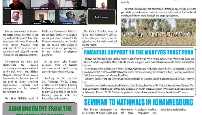 ~Profile \ Ext:php Inurl:?Article= . Eritrea Profile 12 June 2021 - Eritrea Ministry Of Information