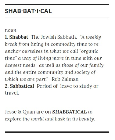 what is shabbatical