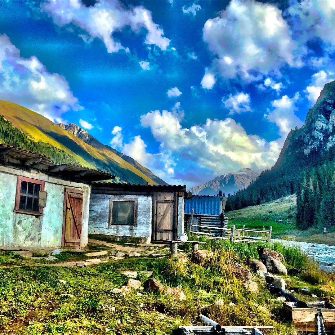 Altyn Arshan Hot springs