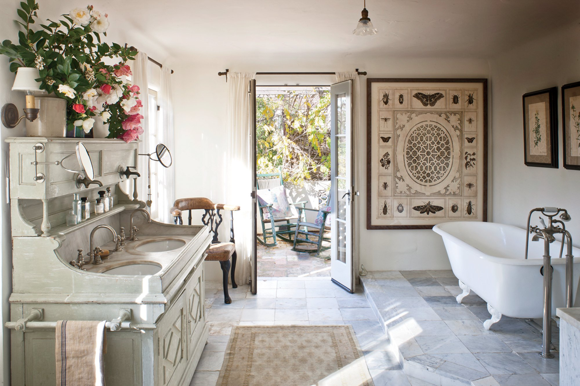 French CountryStyle A Los Angeles Shabby Chic Mania By