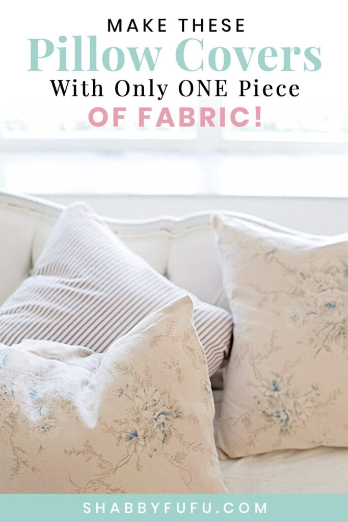 easy and fast pillow cover sewing 101