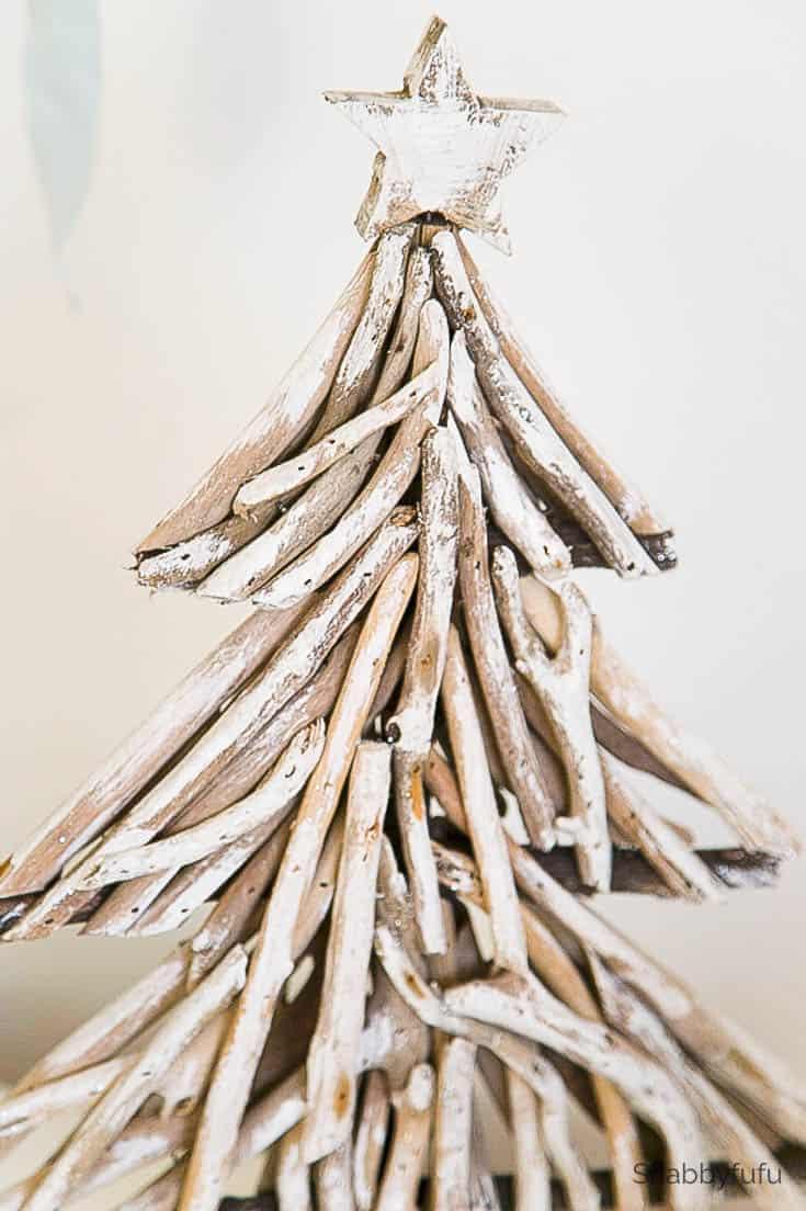Driftwood Projects Coastal Diy Christmas Tree