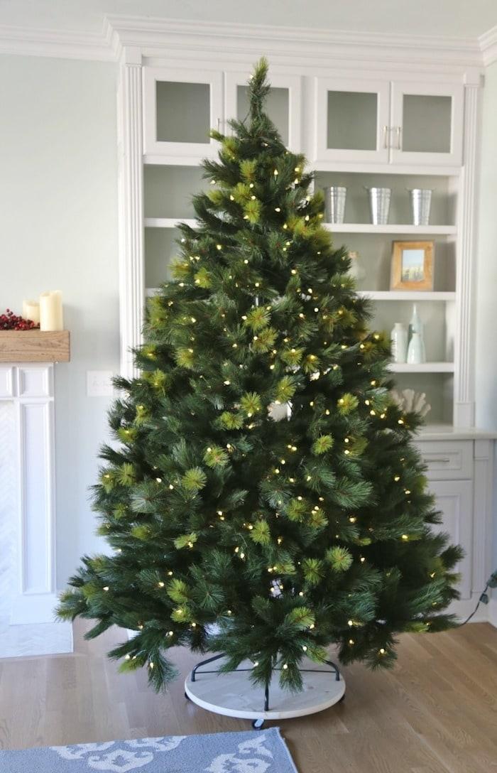 DIY Mobile Christmas Tree Stand