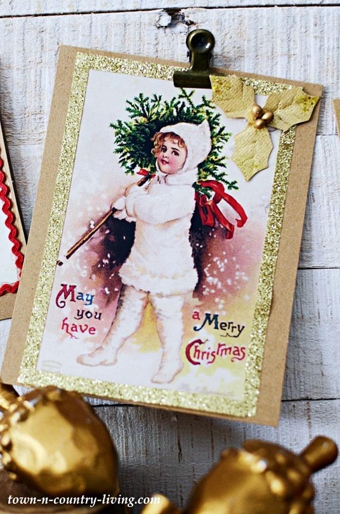 TCL DIY Christmas Cards 11.10