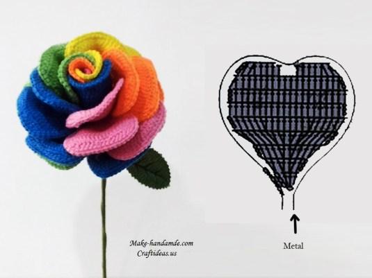 crochet-colorful-rose-chart