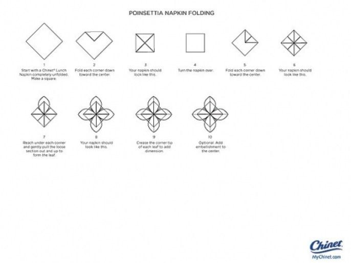 Poinsettia-Napkin-Fold-Diag