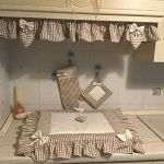 Copri forno e copri fornelli in stile Shabby con tutorial