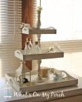 Tutorial per realizzare un grazioso centro tavola porta oggetti in legno Shabby