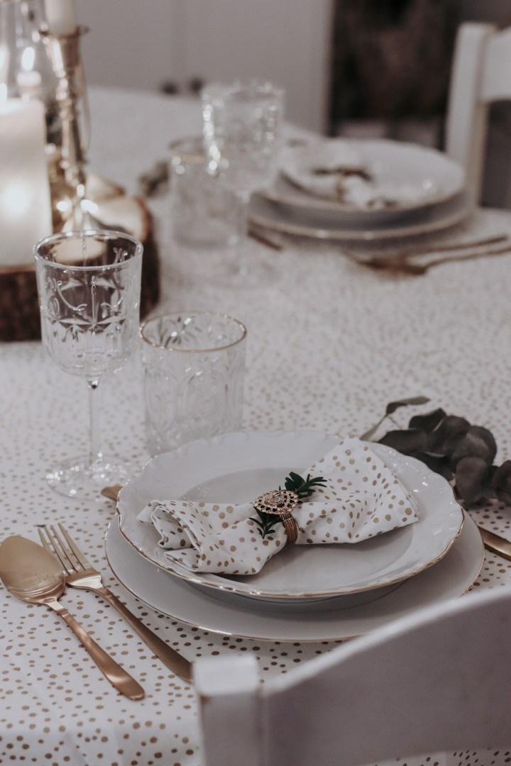 Ma table de fêtes élégante et express pour petit budget