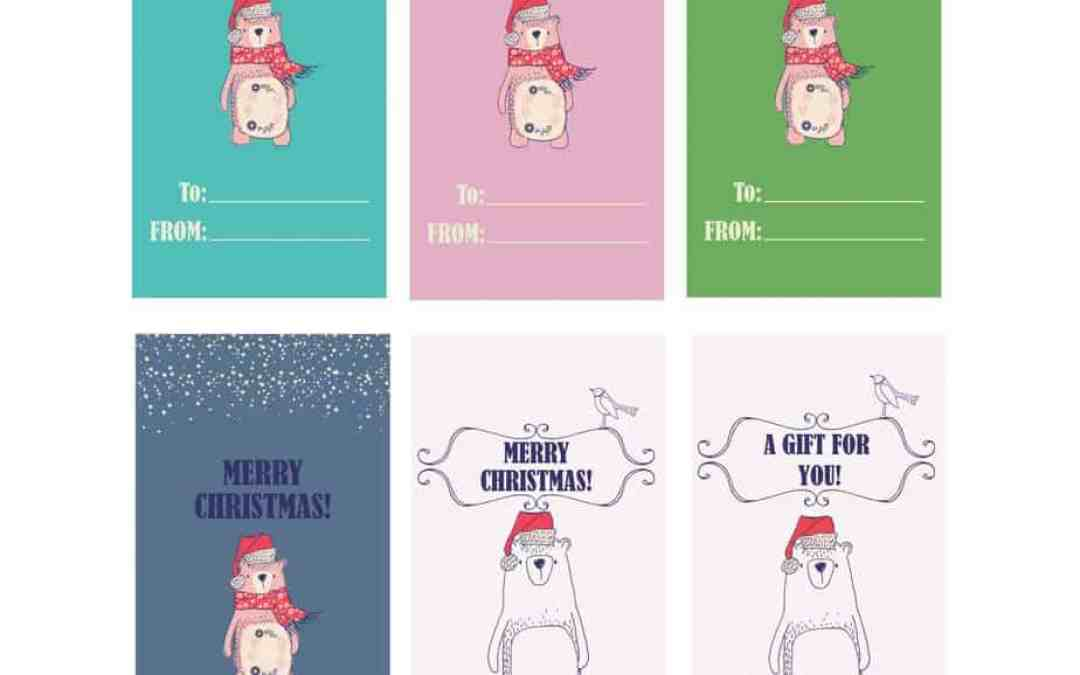 Free Gift Tag Printable Just in Time for Christmas!