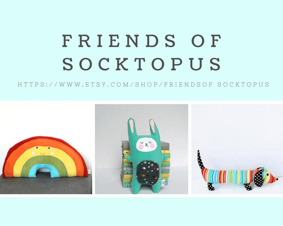 Friends of Socktopus -Etsy shop