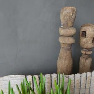 Shabbys-Stoer in wonen-Stoer oud vergrijsd houten wasbord/wasplank, 55 cm breed