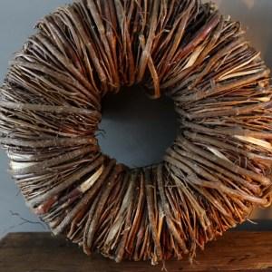 Shabbys-Stoer in wonen-Krans Twig Wreath Naturel 20 cm