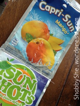 Capri sun upcycle ideas