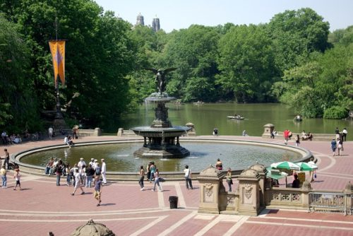 Central Park in New York in hindi