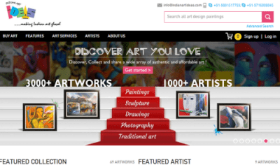 indianartideas.in buy indian paintings online