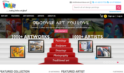 indianartideas.in buy indian art online