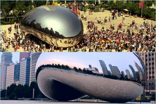 Chicago City Cloud Gate Anish Kapoor best