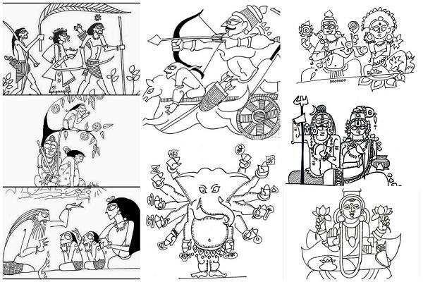 Devdutt Pattanaik art देवदत्त पटनायक आर्ट