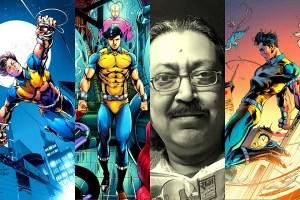 Anupam Sinha Raj Comics Dhruva