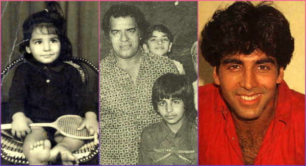 Akshay kumar childhood photos