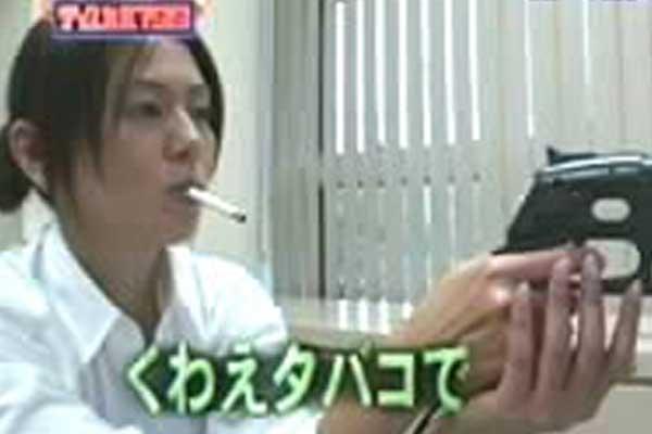 小泉今日子 喫煙