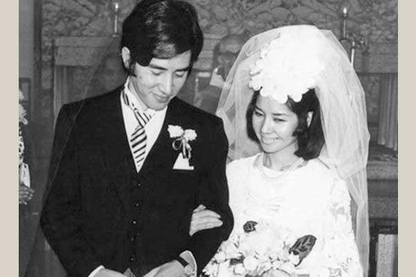 田村正和 嫁 矢島和枝 結婚式